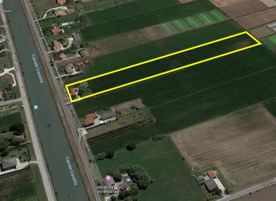 Single house with plot land in Jesolo Paese